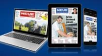 4 Wochen gratis: die digitale Zeitung rund um die Uhr.